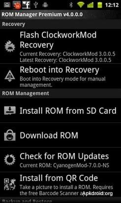 ROM Manager Premium 4.8.1.3